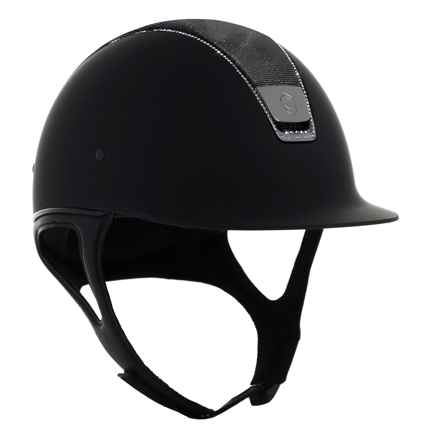 73b55c34c4011 Samshield Shadowmatt Helmet - Shimmer Top - 255 Swarovski - Royal ...