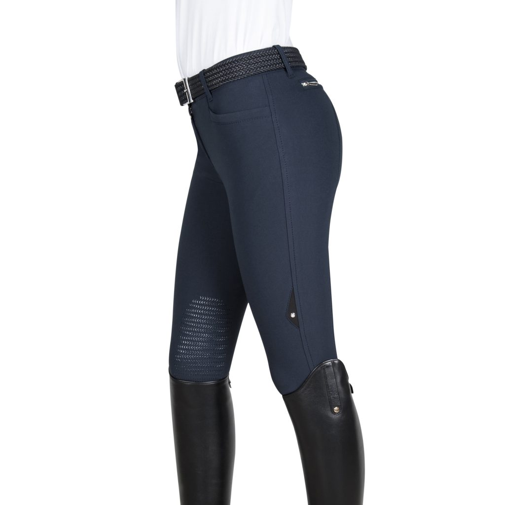 Equiline Knee Grip Breeches Ash Royal Equestrian