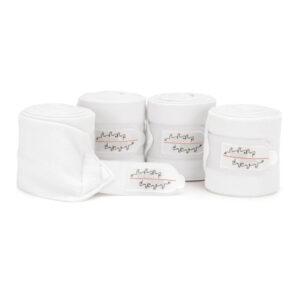 Eskadron Fleece Bandages White