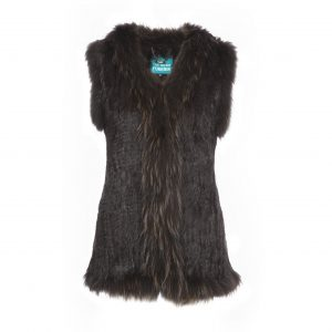 The Soho Furrier Ultimate Brown Gilet