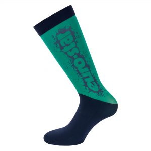 Technical Airbrush Socks Shamrock