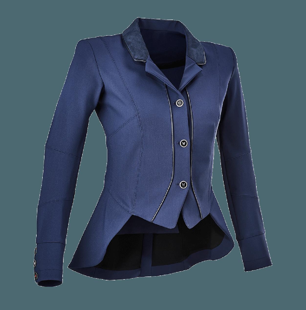 Horse Pilot Womens Cutaway Competition Jacket Royal