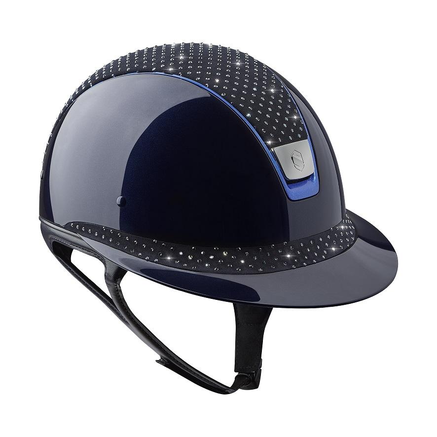 Samshield Shadowmatt Helmet Sparkling Top Royal Equestrian