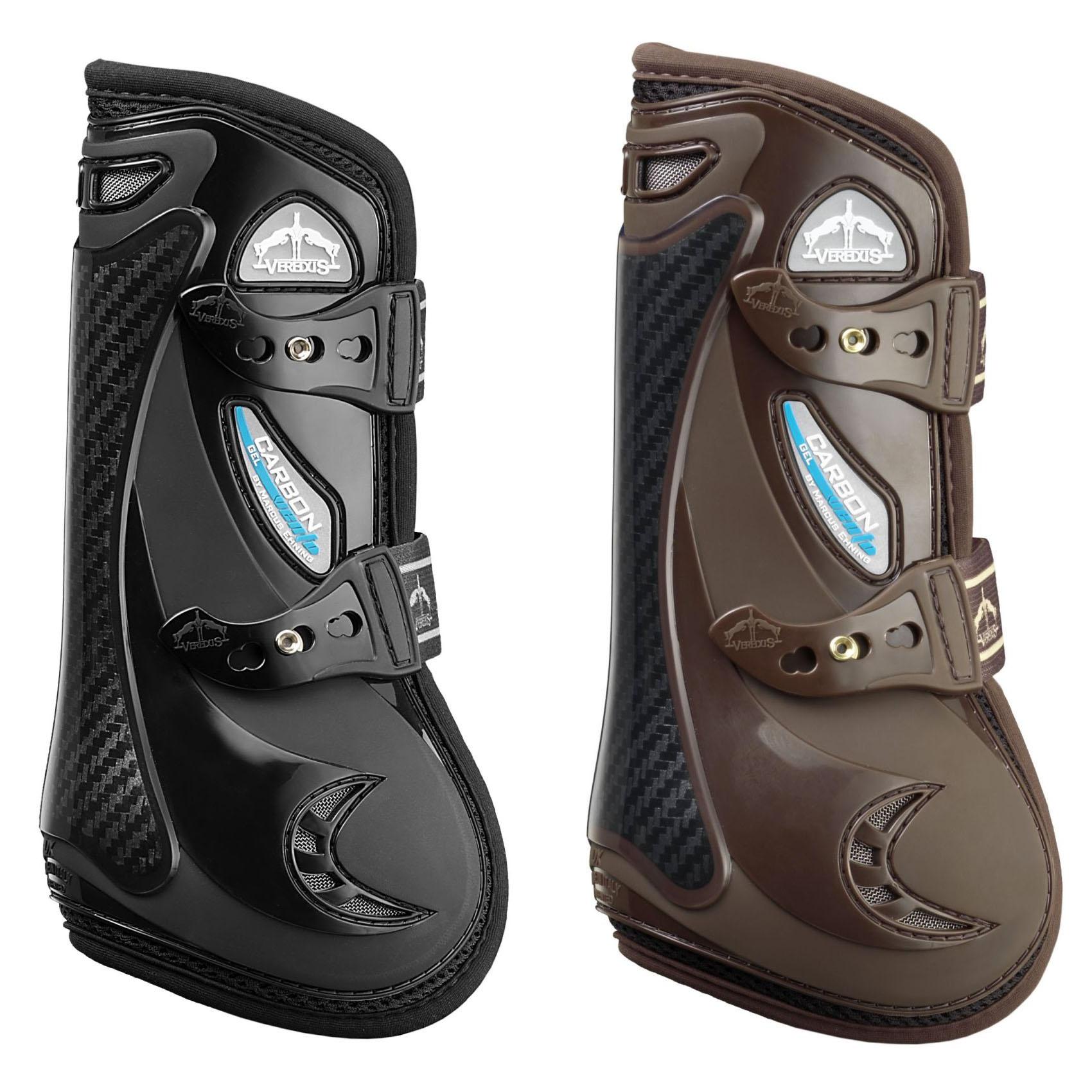 Veredus Carbon Gel Vento Front Tendon Boots Black Pferdeausstattung & Zubehör Reit- & Fahrsport-Artikel